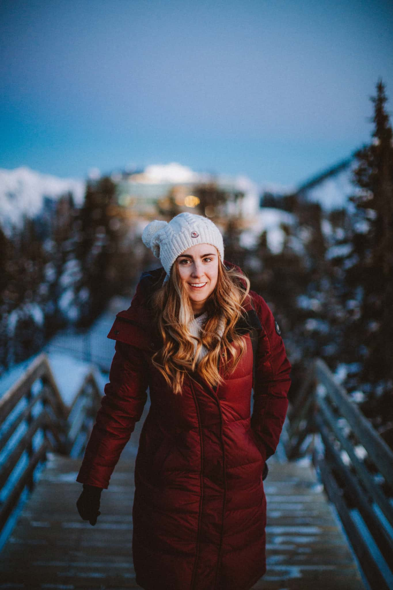 Emily - warm winter clothes for Banff - TheMandagies.com