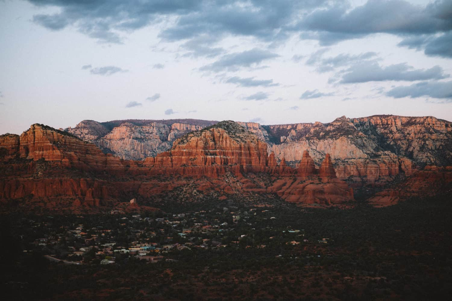 View of Red Rocks State Park Sedona, shot with Canon EOS R