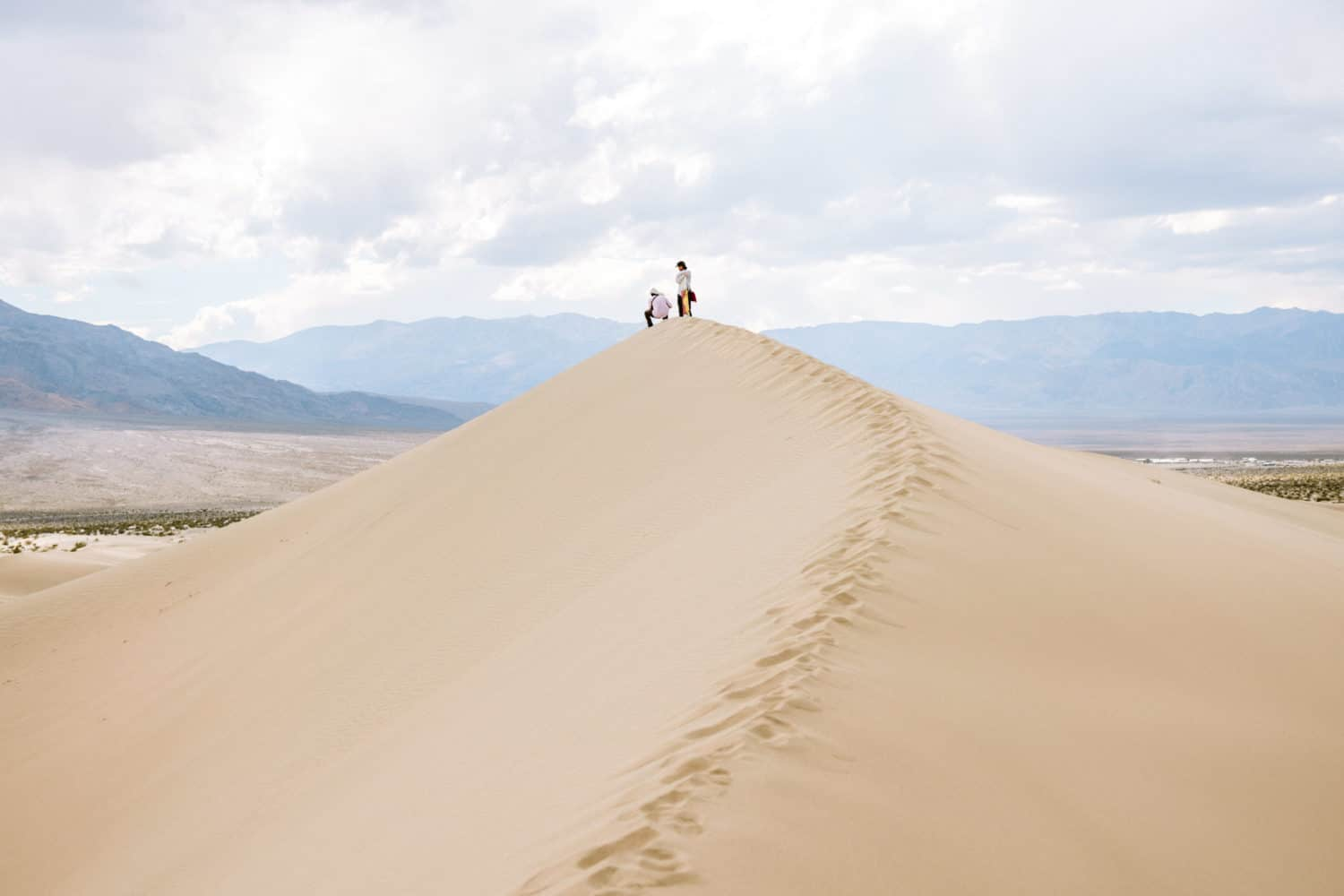 Mesquite Flat Sand Dunes - Death Valley In One Day
