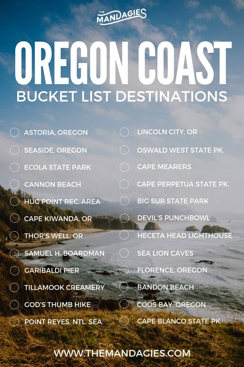 The Perfect Oregon Coast Road Trip Itinerary (And Exactly Where To