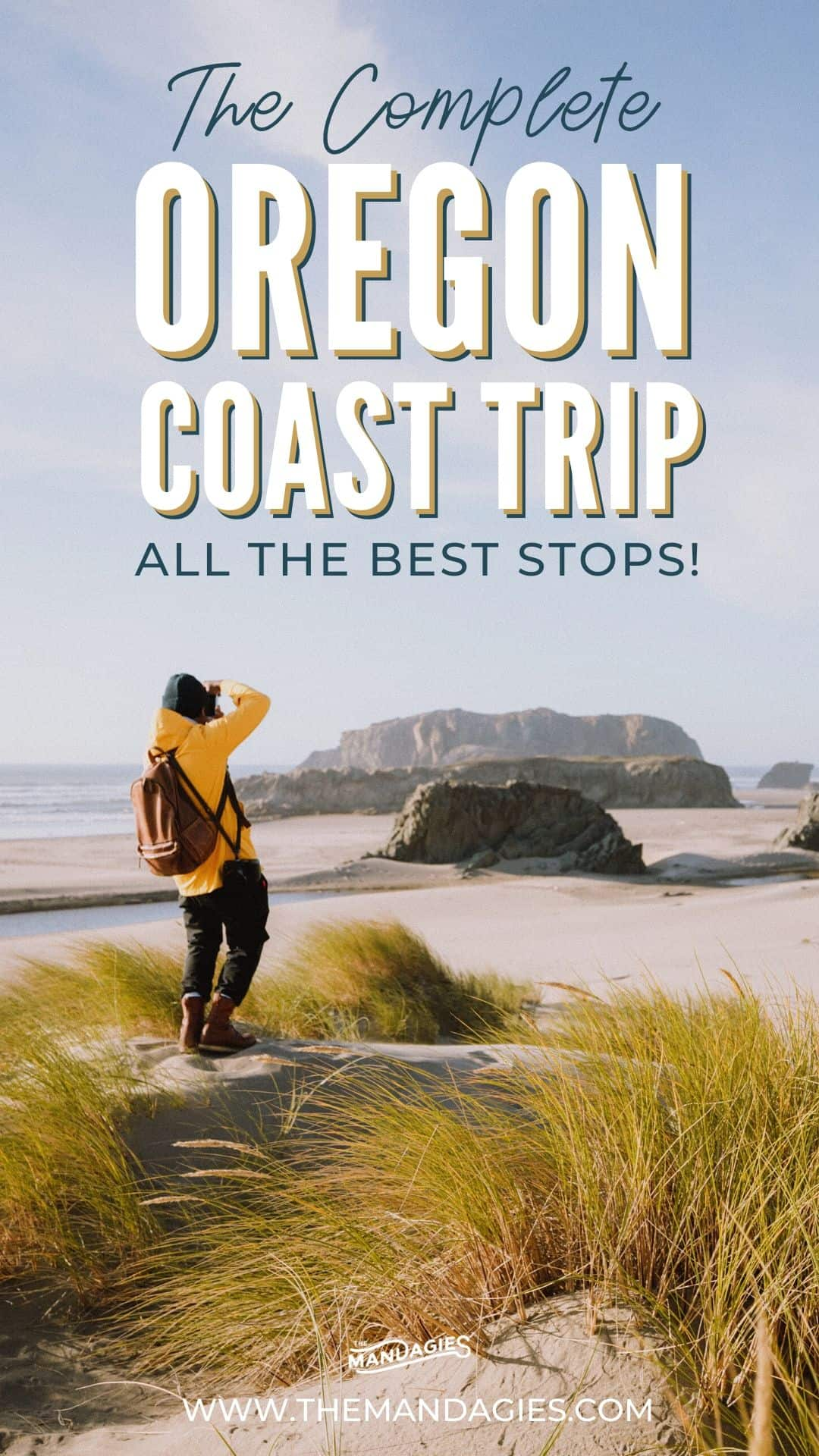 Driving the Oregon Coast and looking for the best places to see? We're sharing the best places to visit on the Oregon Coast, including everything from beaches, photo spots, hiking trails, and favorite towns on the Oregon Coast! Save this post for your next epic trip to the Pacific Northwest! #Oregoncoast #Oregon #roadtrip #cannonbeach #PNW #pacificnorthwest #vacation #PacificNW #travel #photography #traveltips #themandagies