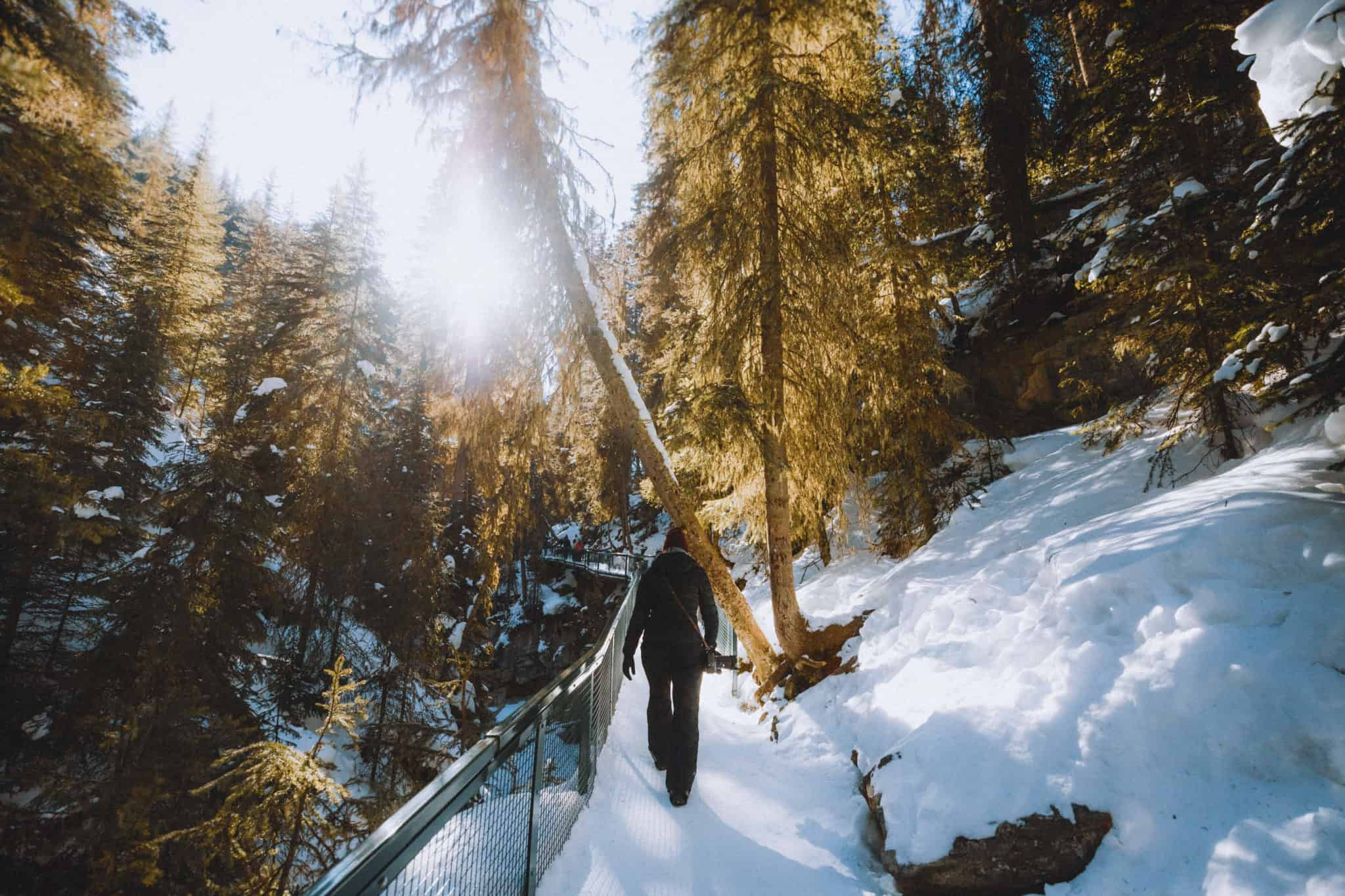 The Johnston Canyon Ice Walk And Everything You Need To Know About This Epic Banff Winter Hike