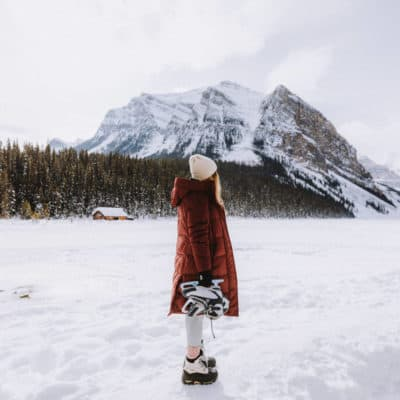 Everything You Need To Know About Ice Skating On Lake Louise This Winter Season! Cheap Skate Rentals, Ice Hockey + More!