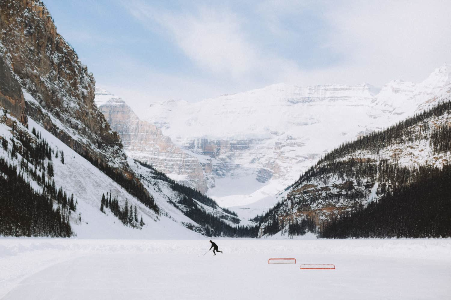 Hockety Rink at Lake Louise - TheMandagies.com