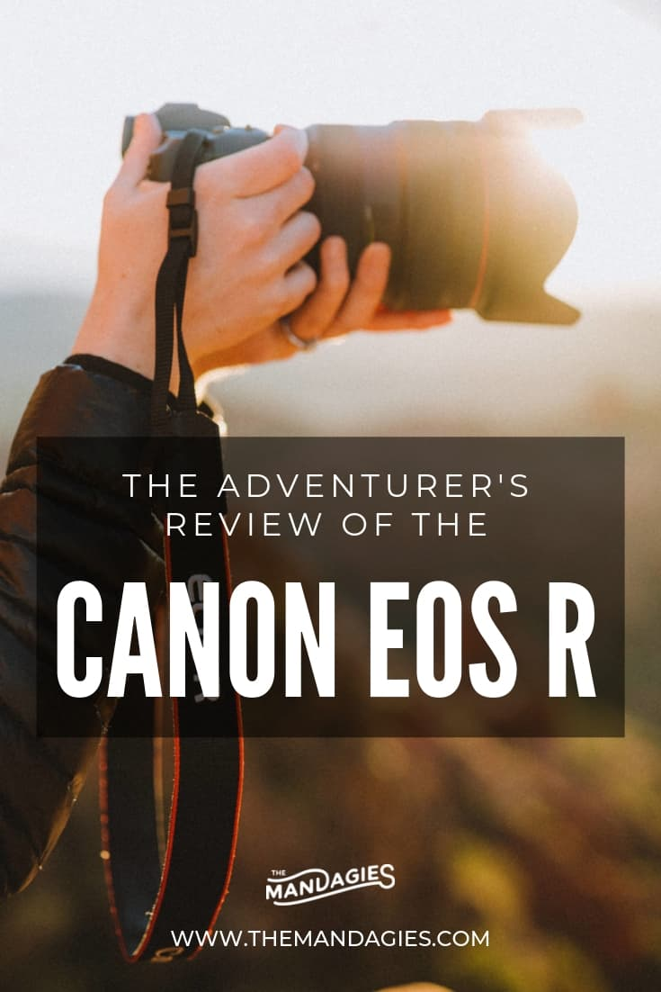 Looking to upgrade your camera gear? In this post, we're sharing our review of the new Canon EOS R, a new, lightweight mirrorless body that packs a big punch! Click here to read our take on the newest Canon addition and if it's worth the money...or not! #Canon #Canoneosr #photography #mirrorlesscamera #DSLR #photographytips #photographytutorials #phototips #mirrorlesscamera #photographybeginners #mirrorlesslens