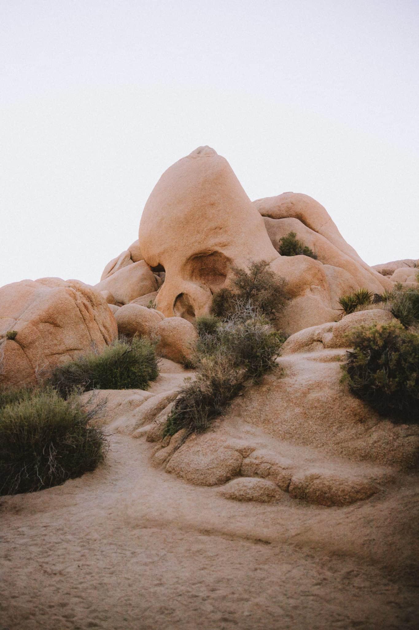 Skull Rock at Joshua Tree NP - Southwest Road Trip Destination -TheMandagies.com