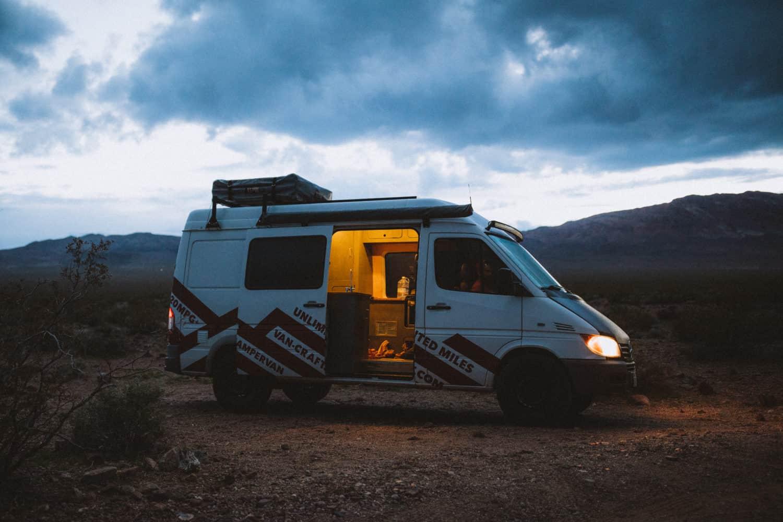 Camping in a Sprinter Van - TheMandagies.com