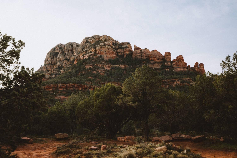 View of Red Rocks in Sedona, Arizona - TheMandagies.com