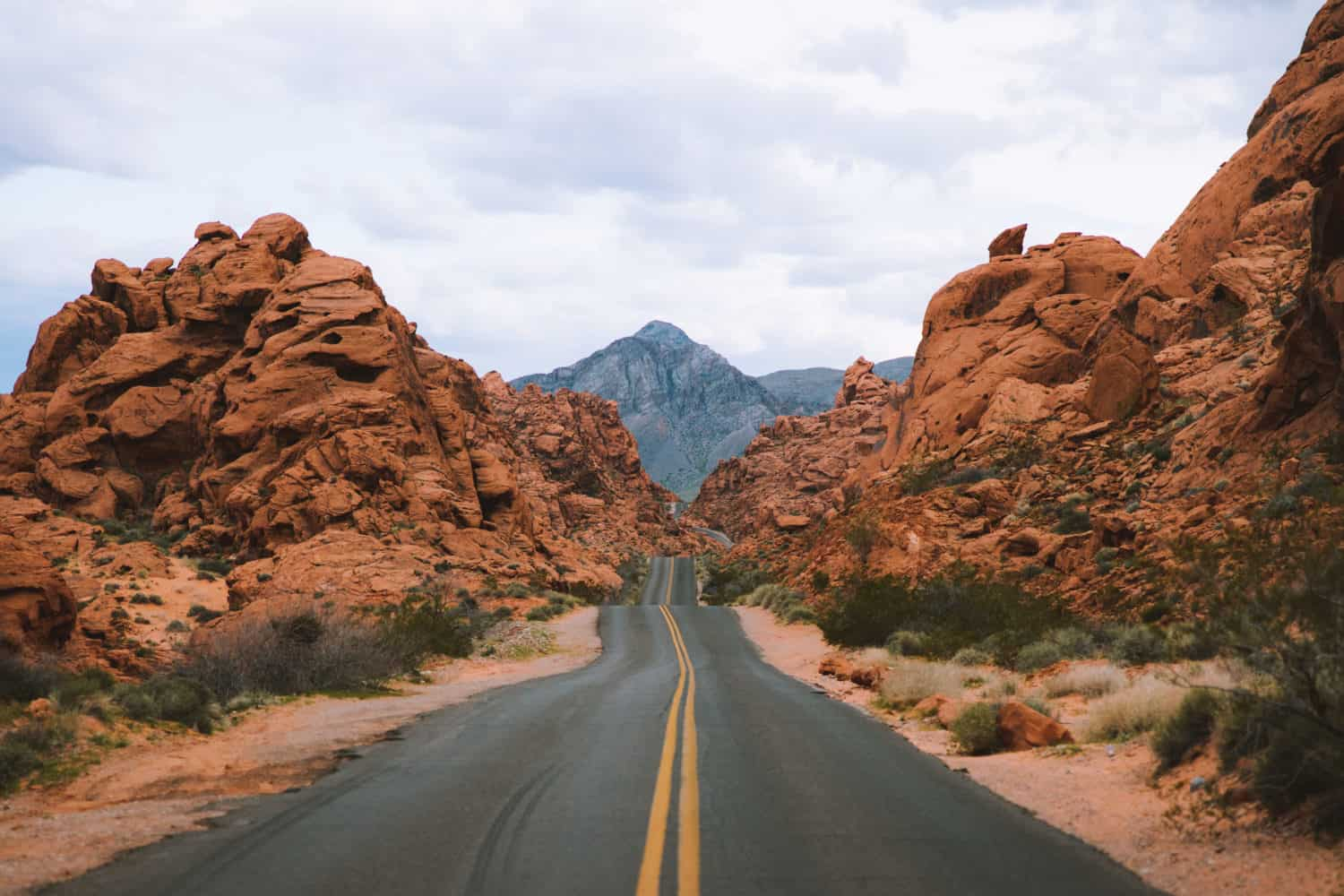 Valley of Fire Road Shot On Canon EOS R