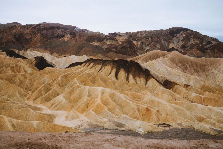 Zabriskie Point, Death Valley National Park - TheMandagies.com