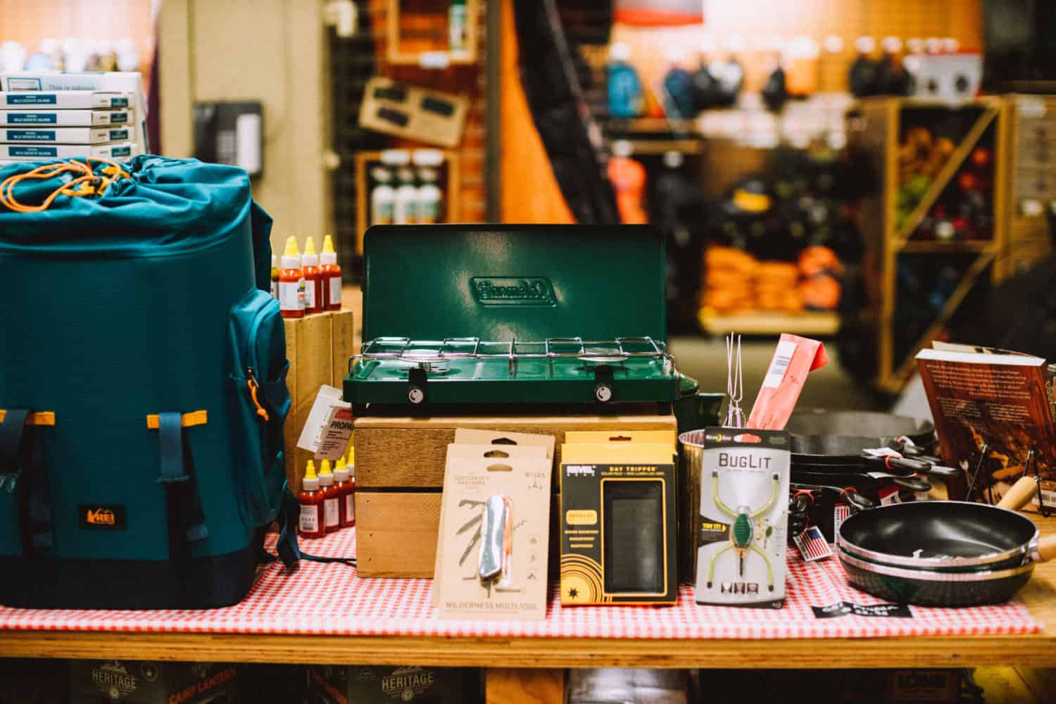 wedding gifts for outdoorsy couple, Stove example