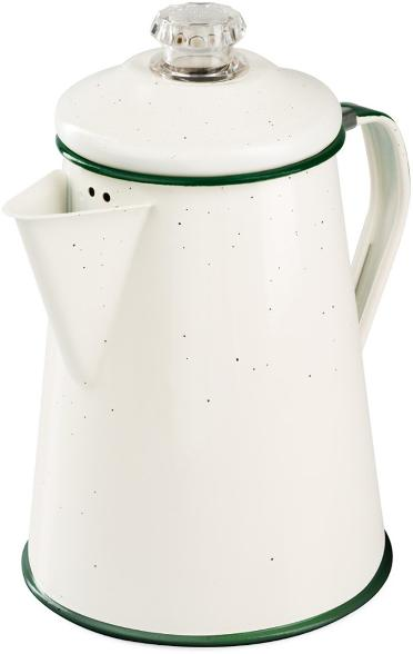 GSI Outdoor Enamel Percolator, wedding gifts for outdoorsy couple