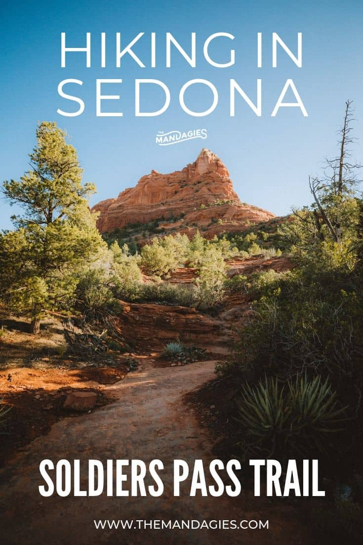 Looking for a sedona hiking trail that has a little bit of everything? Soldiers Pass Trail is perfect for the whole family - secret caves, sinkholes, and sacred pools and just the beginning! #sedona #soldierspass #redrocksstatepark #arizona #hiking #trails #ravel #desert #photography #nature #southwest #USA