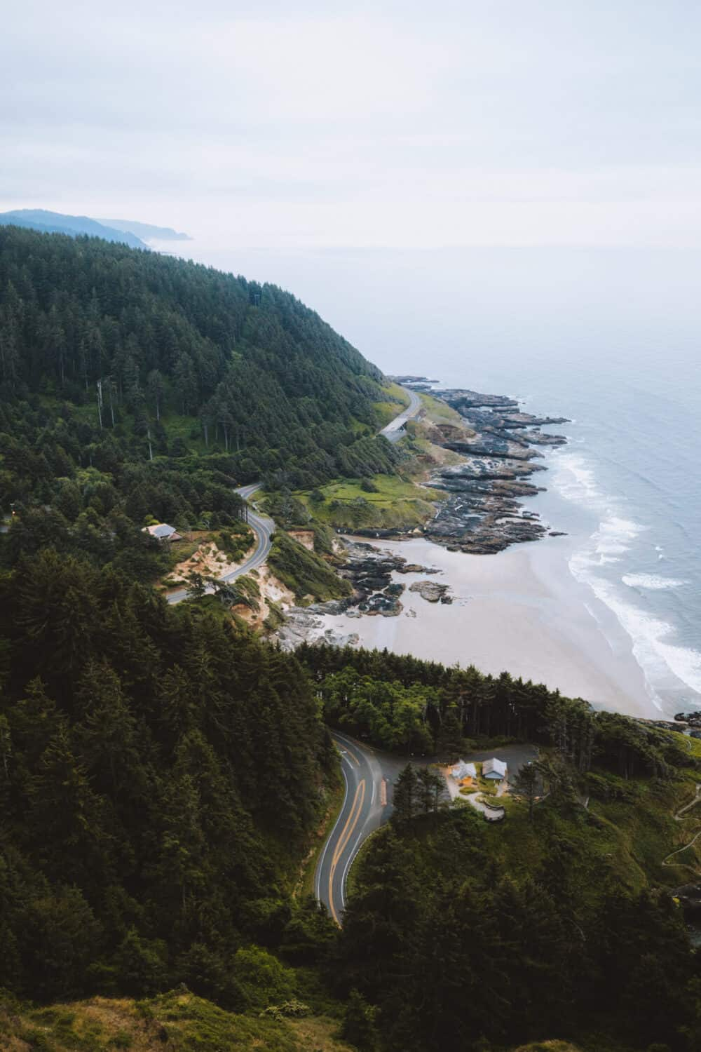 View Of Cape Perpetua Lookout -TheMandagies.com