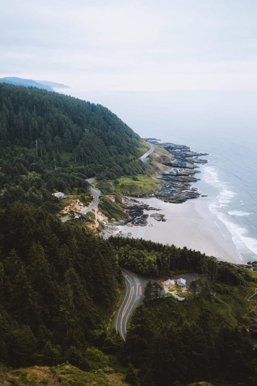 Cape Perpetua On The Oregon Coast
