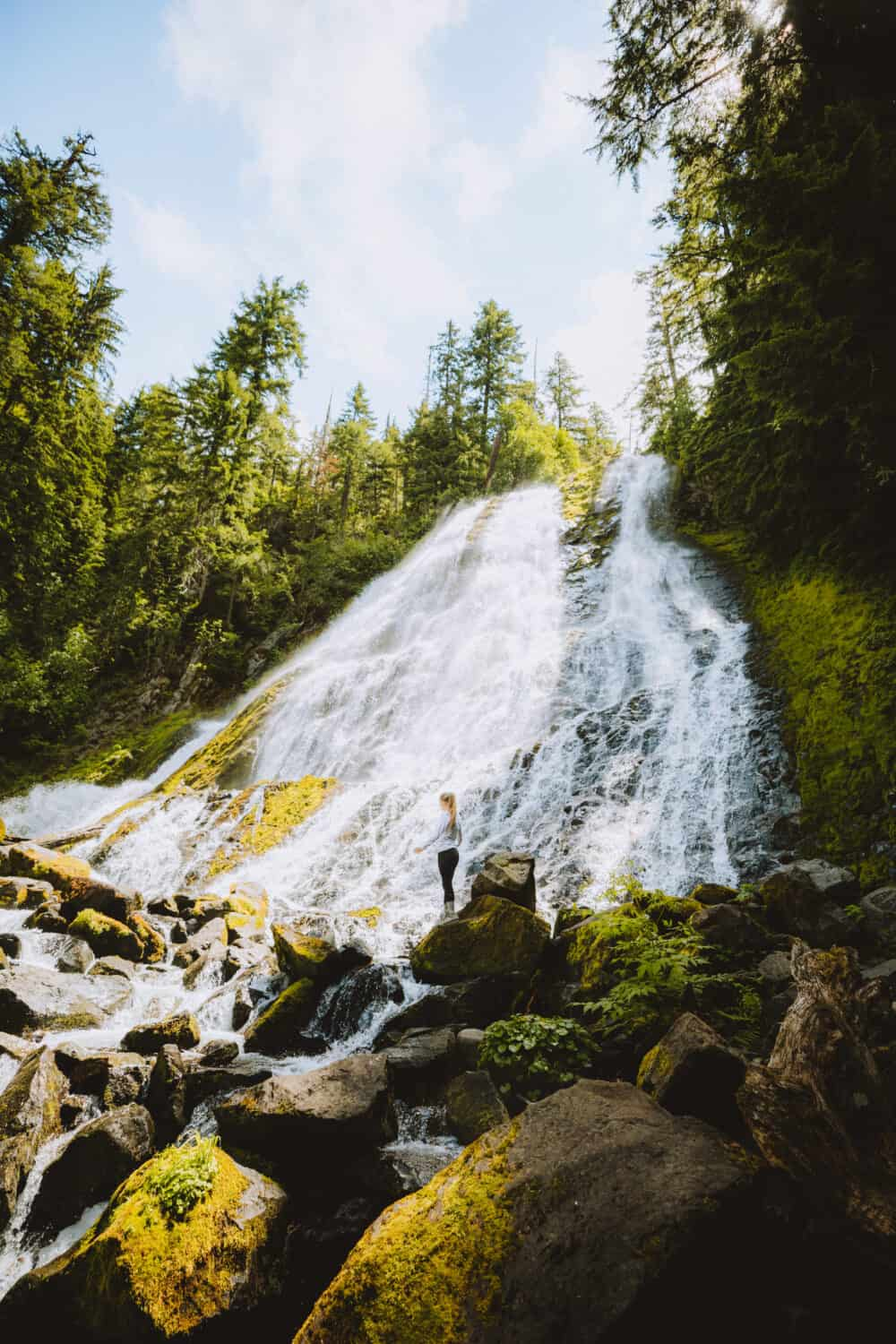 Places To Visit In The Pacific Northwest - Oregon Waterfalls