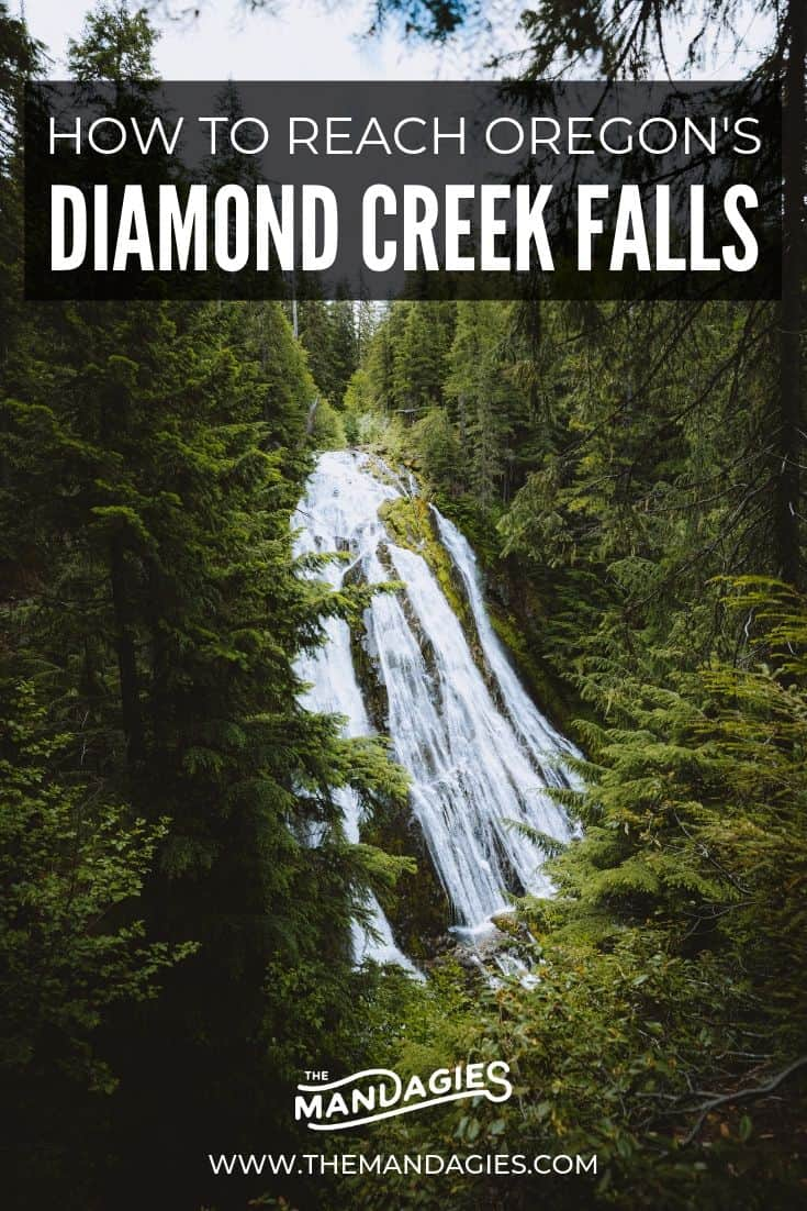 Looking for beautiful Oregon waterfalls to explore? We're sharing a two for one deal, right in the middle of Central Oregon in the Cascade Mountains. Diamond Creek Falls and Salt Creek Falls are on one trail, and ready to amazing you. Click here for all the details! #Oregon #waterfall #cascades #PNW #hiking #travel #mountains #photography #advecnture #PacificNorthwest #USA