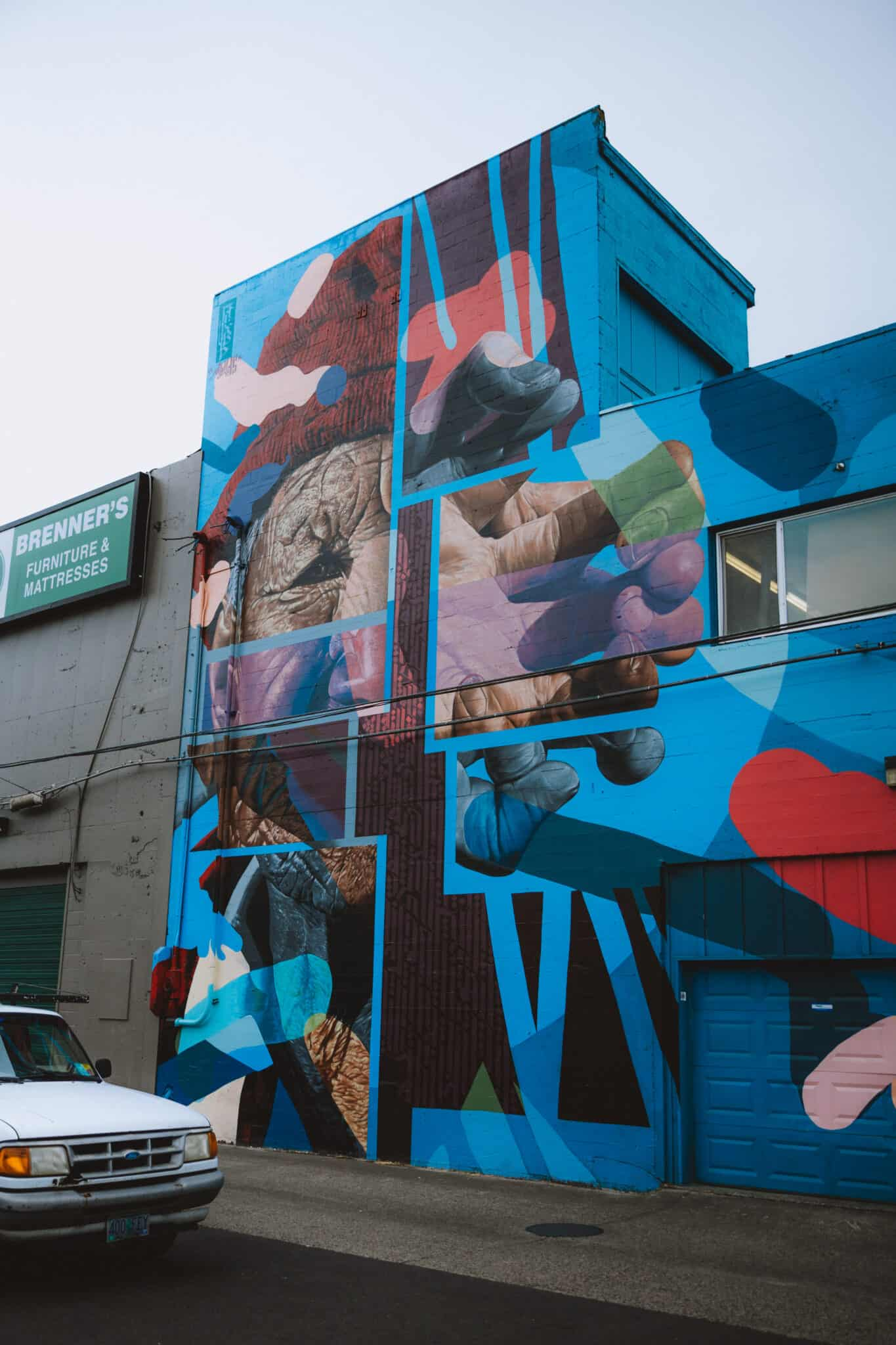 Downtown Eugene 20x21 Mural Project - TheMandagies.com