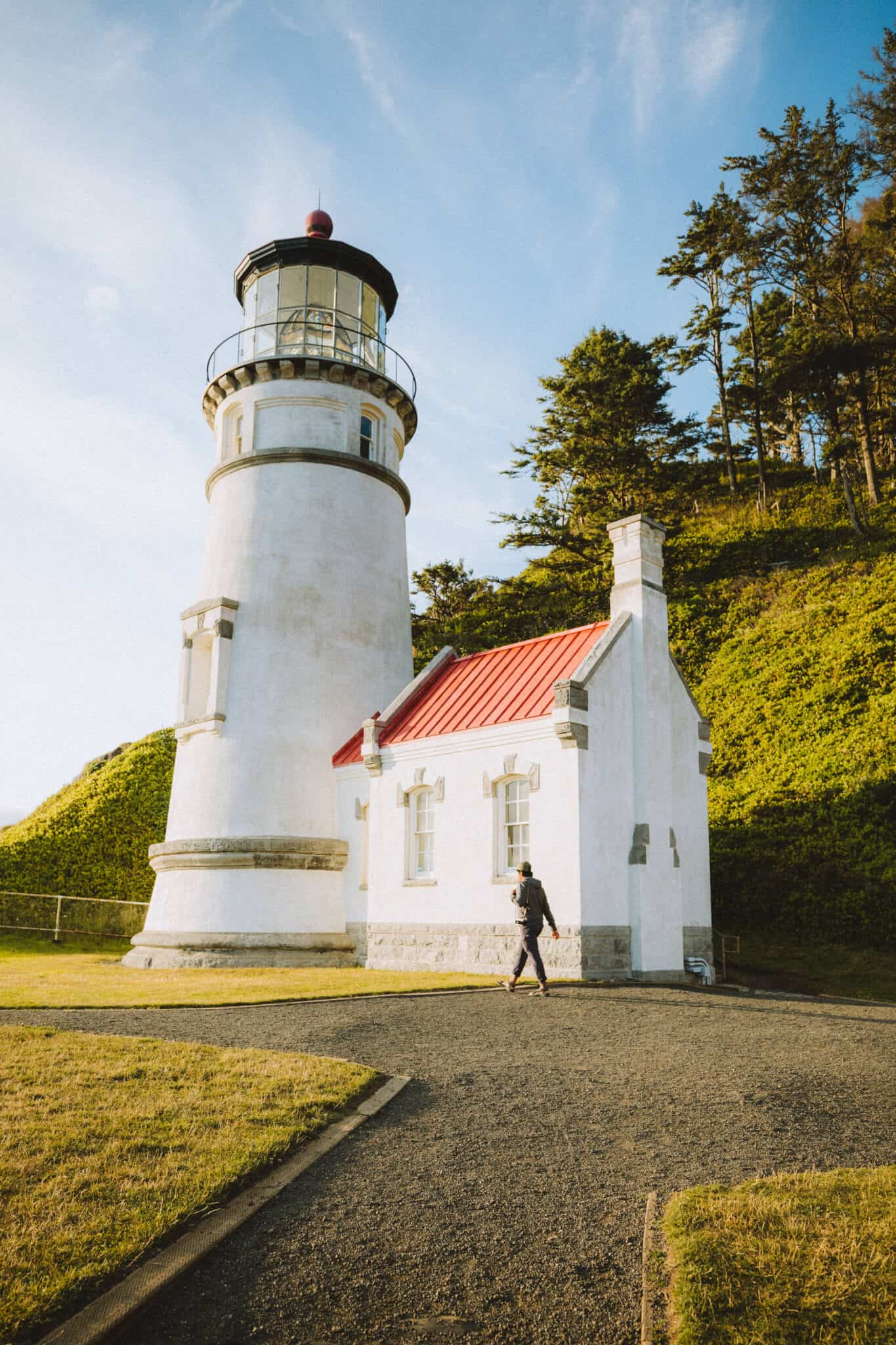 Heceta Head Lighthouse in Oregon - TheMandagies.com