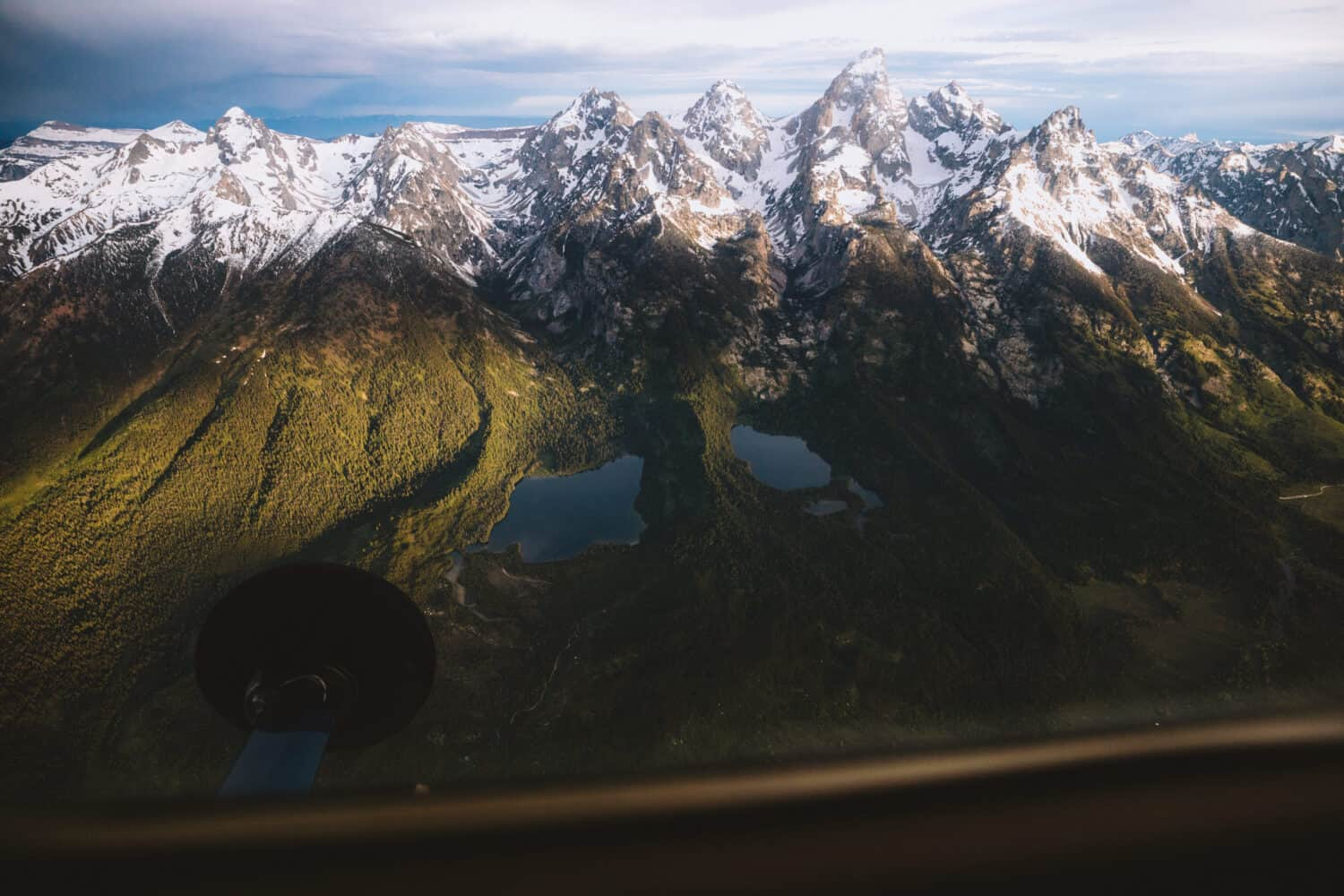 Grand Teton National Park From Above - Aerial Photography - TheMandagies.com
