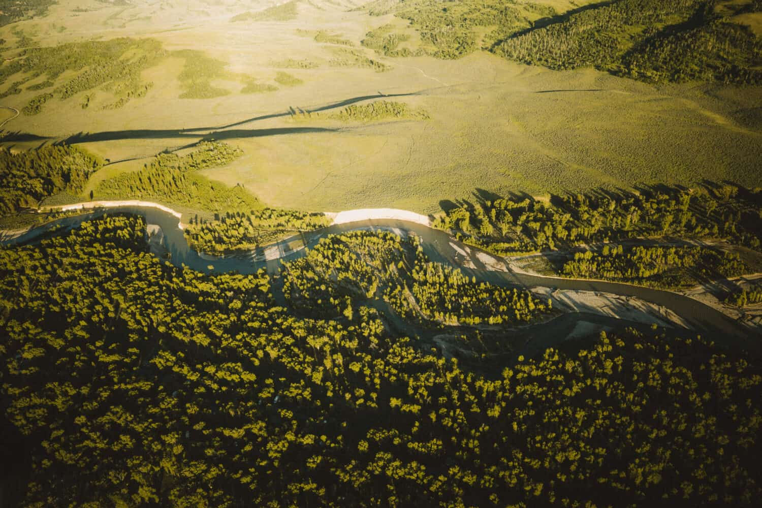 Snake River from above - TheMandagies.com