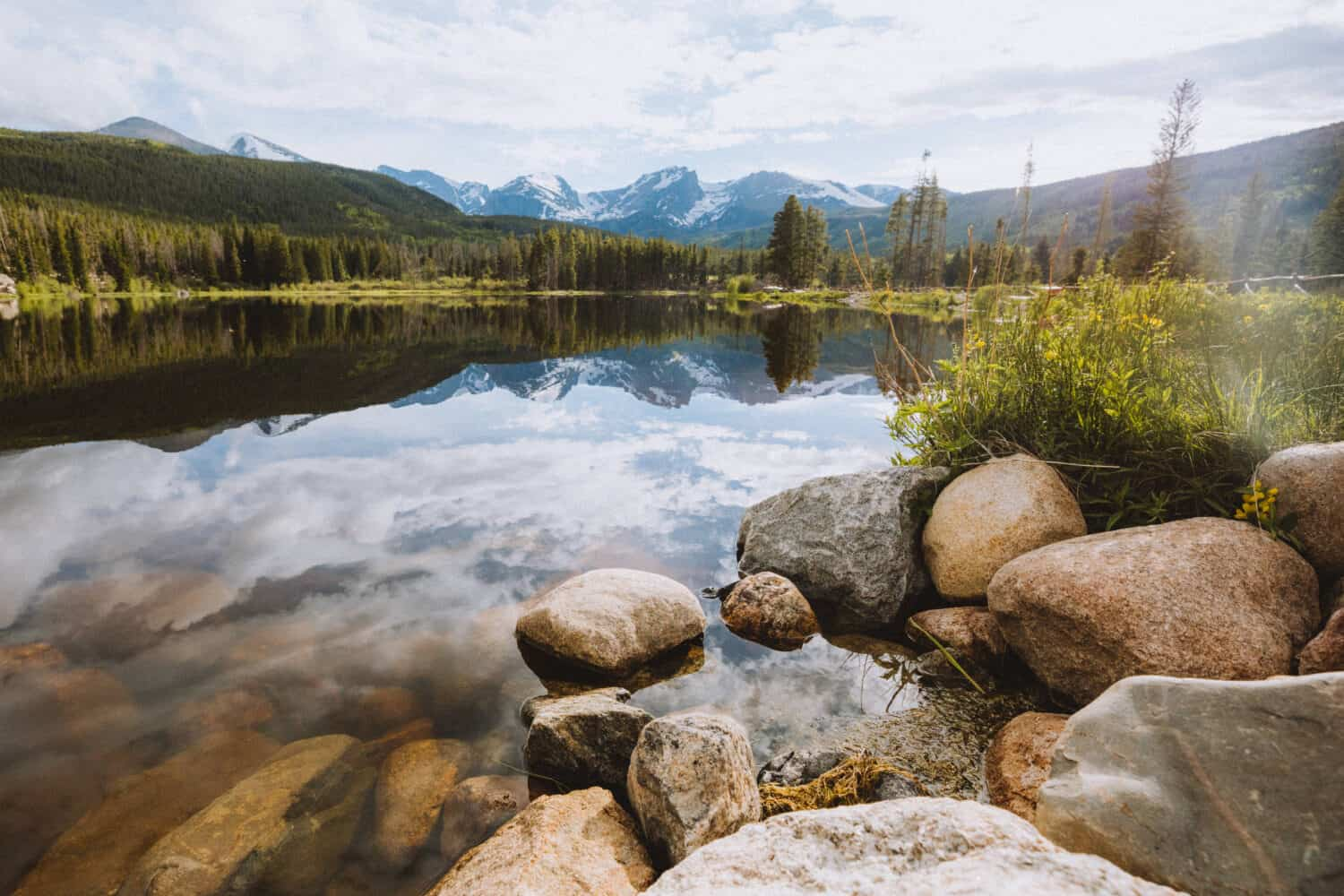 Rocky Mountain Road Trip - Sprague Lake - TheMandagies.com