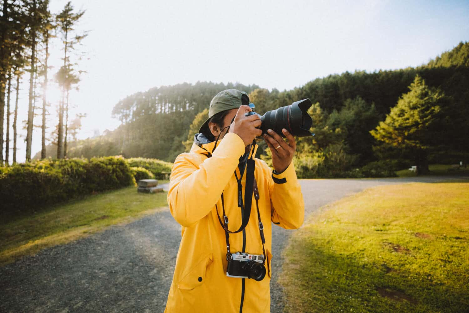 Berty Mandagie capturing beautiful photos of Oregon