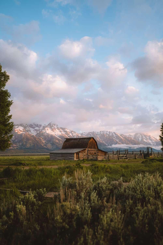 Mormon Row Barn at Grand Teton National Park