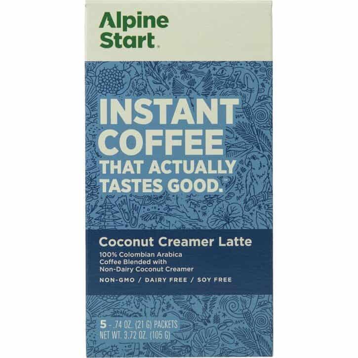 Alpine Start Instant Coffee Packets