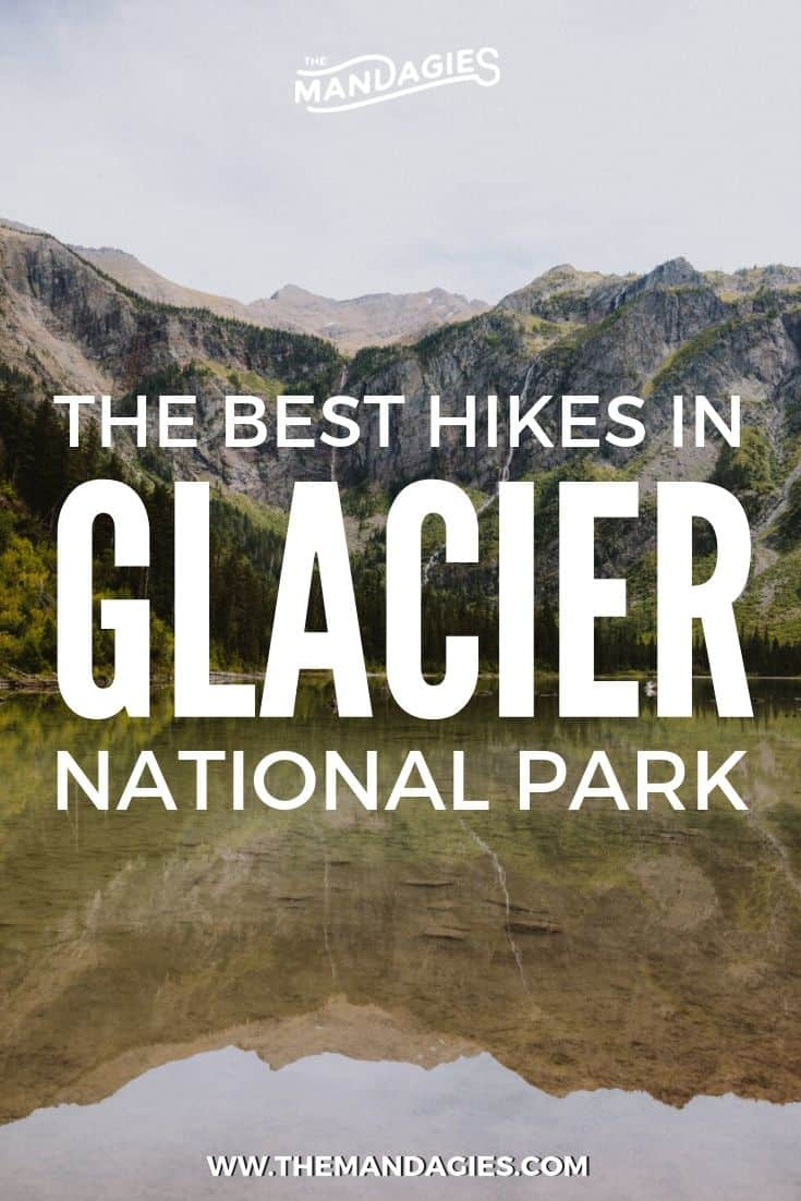Hikes in Glacier National Park are some of the most beautiful and scenic trails in Montana! In this post we're sharing easy hikes in Glacier, and tips on making the most of your Glacier trip. #glacier #montana #glaciernationalpark #hiking #trails #outdoors #travel #roadtrip #photography #sunrise #rockymountains #USA