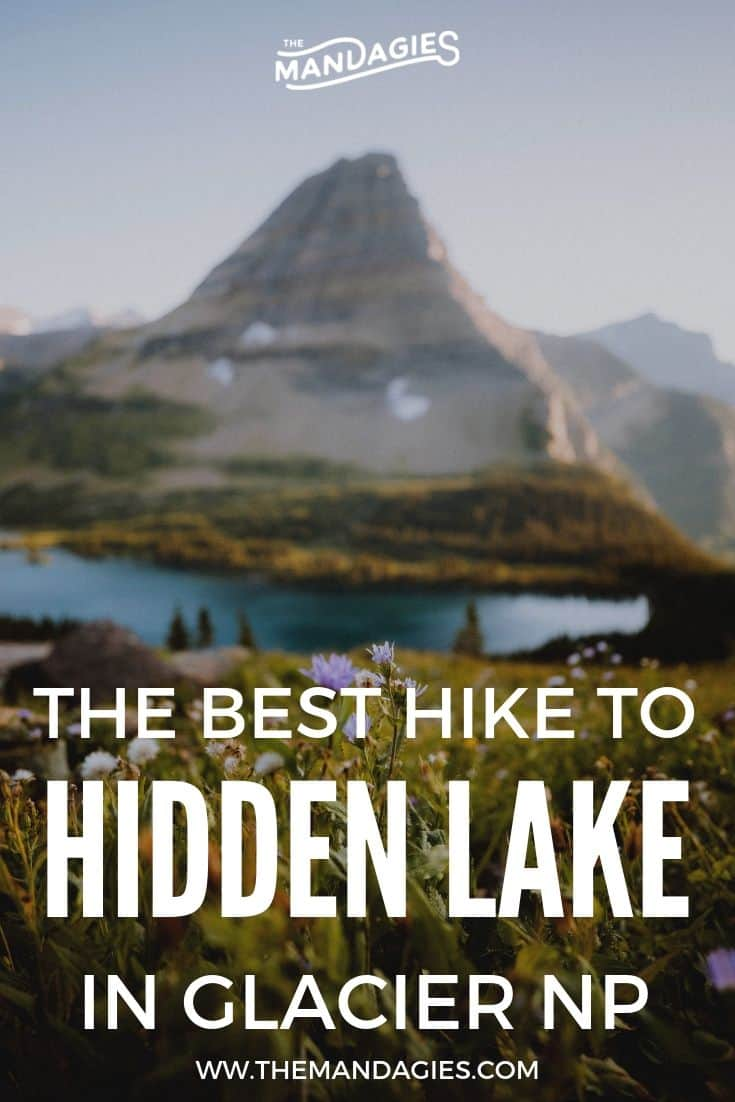 Hidden Lake Lookout is an epic hike in Glacier National Park with stunning mountain views! It's an easy hike in Glacier NP, and we're spilling all the details! What to expect, best photo spots, and so much more. Save for your next Montana vacation! #montana #glaciernationalpark #Glacier #hiddenlake #hiking #travel #photography #photography #sunset #Rockies #USA #Mountains #mountain