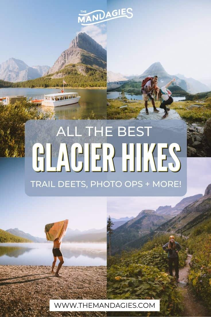 All The Best Hikes In Glacier National Park, Montana | Looking for some of the best hikesin Glacier National Park? In this post, we're sharing the best Glacier trails, including ones to glaciers, lakes, and waterfalls! | Hike In Glacier National Park | Trails In Glacier | Visit Montana | Montana Road Trips #montana #glaciernationalpark #GlacierHikes #glaciermontana #montanaroadtrip #roadtrip #rockymountains #USA #summer #adventure