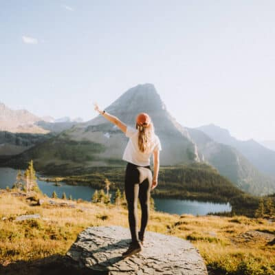 You Need This Hike To Hidden Lake In Glacier National Park At Sunset