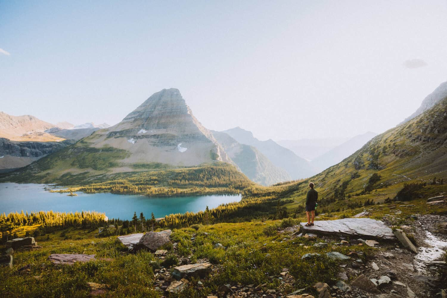 Hidden Lake Lookout Trail, hikes in Glacier National Park
