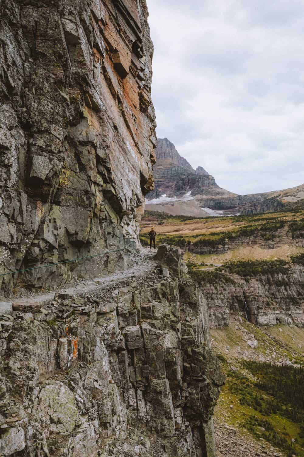 The Highline Trail - best hikes in glacier national park - TheMandagies.com