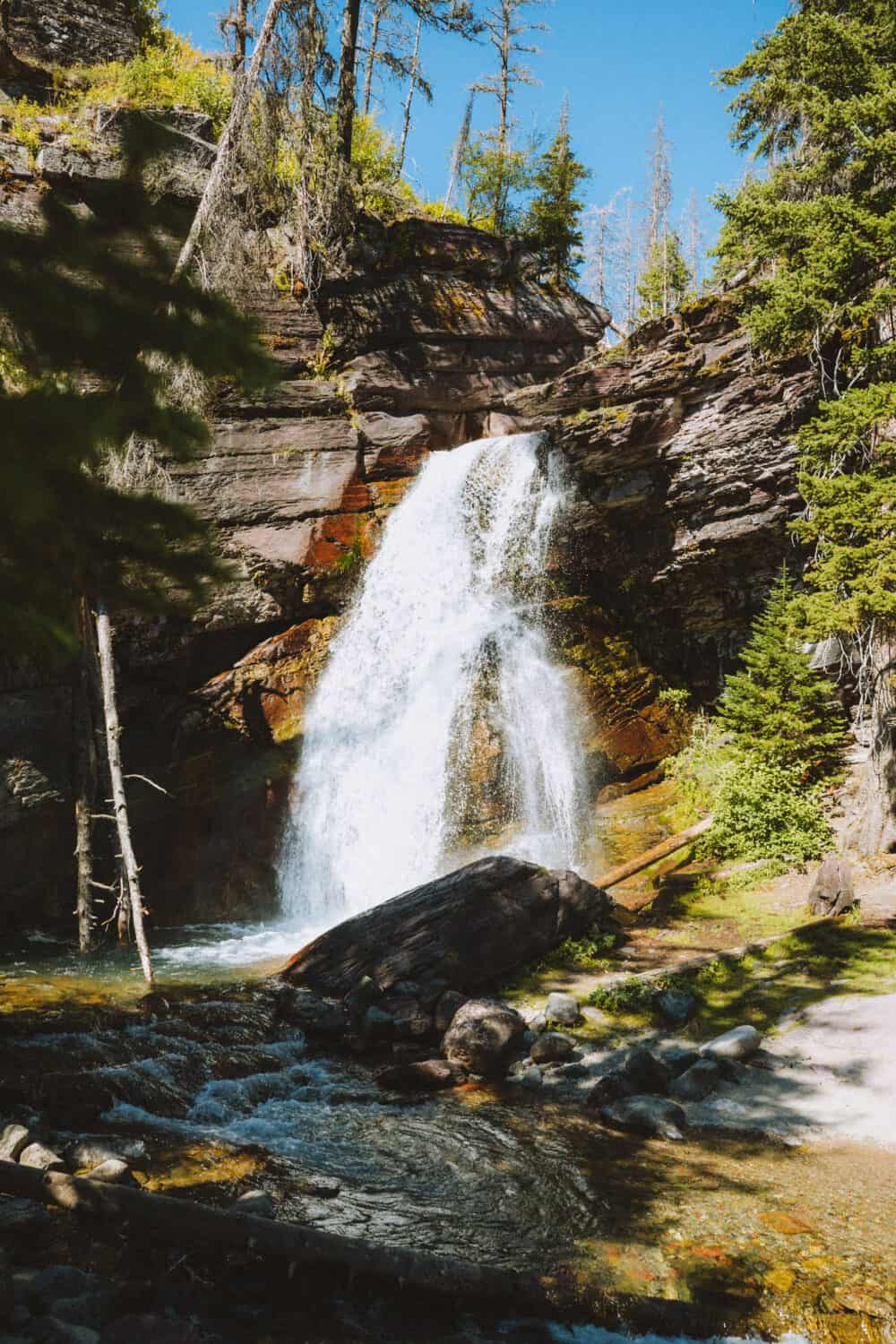 Baring Falls, Glacier National Park Waterfalls
