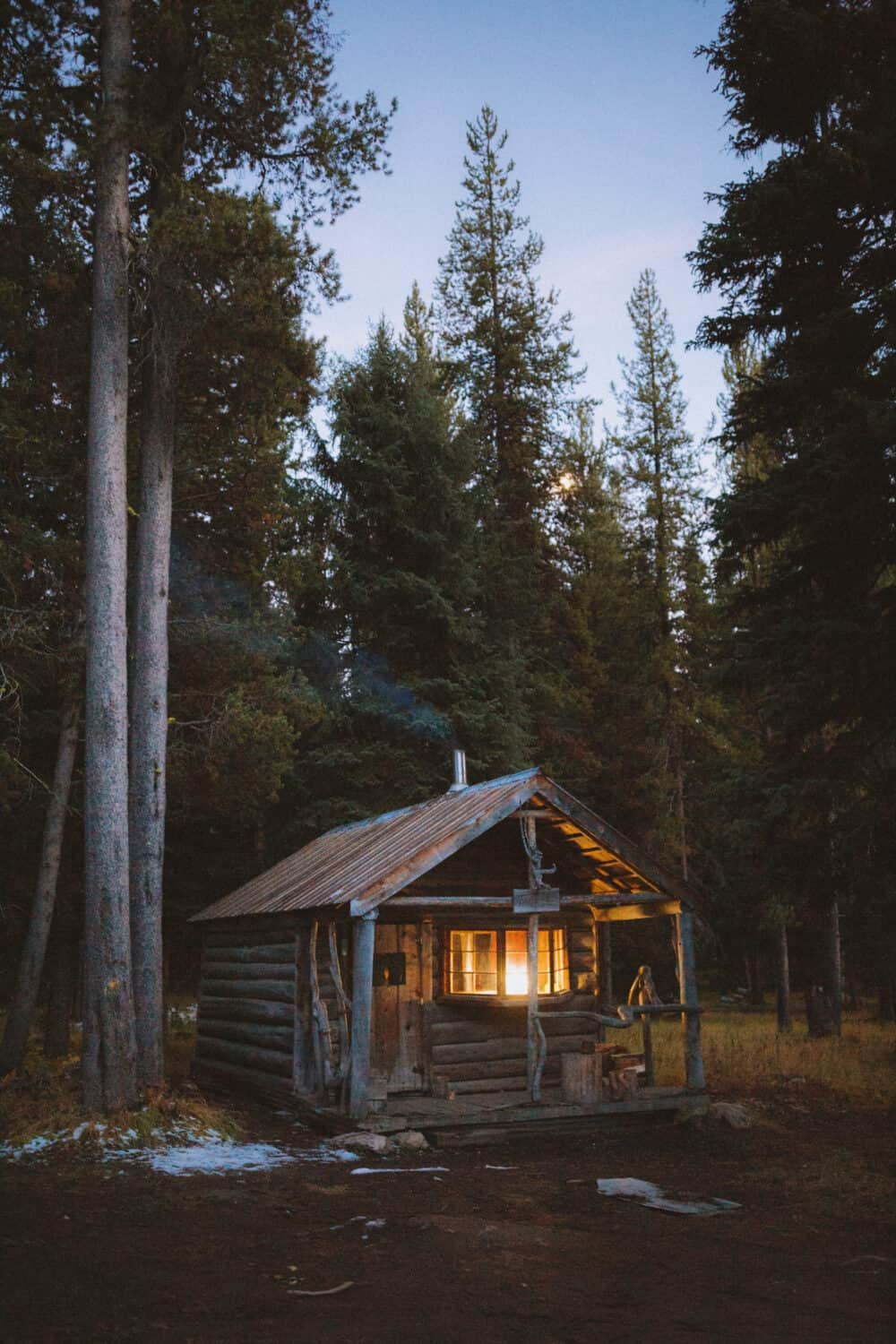 The Tackle Cabin at Burgdorf Hot Springs, McCall, Idaho - TheMandagies.com