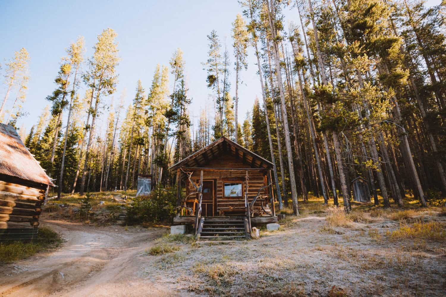 Cabin for rent at Burgdorf Hot Springs, Idaho - TheMandagies.com