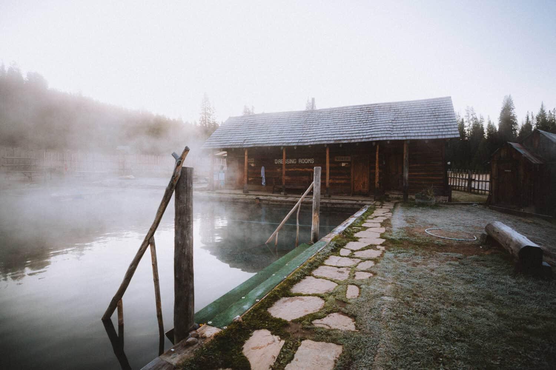 Weekend Getaway From Boise, Idaho to Burgdorf Hot Springs