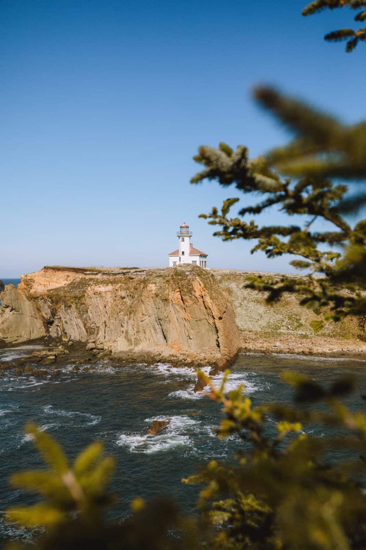 Cape Arago Lighthouse - Coos, Bay Oregon