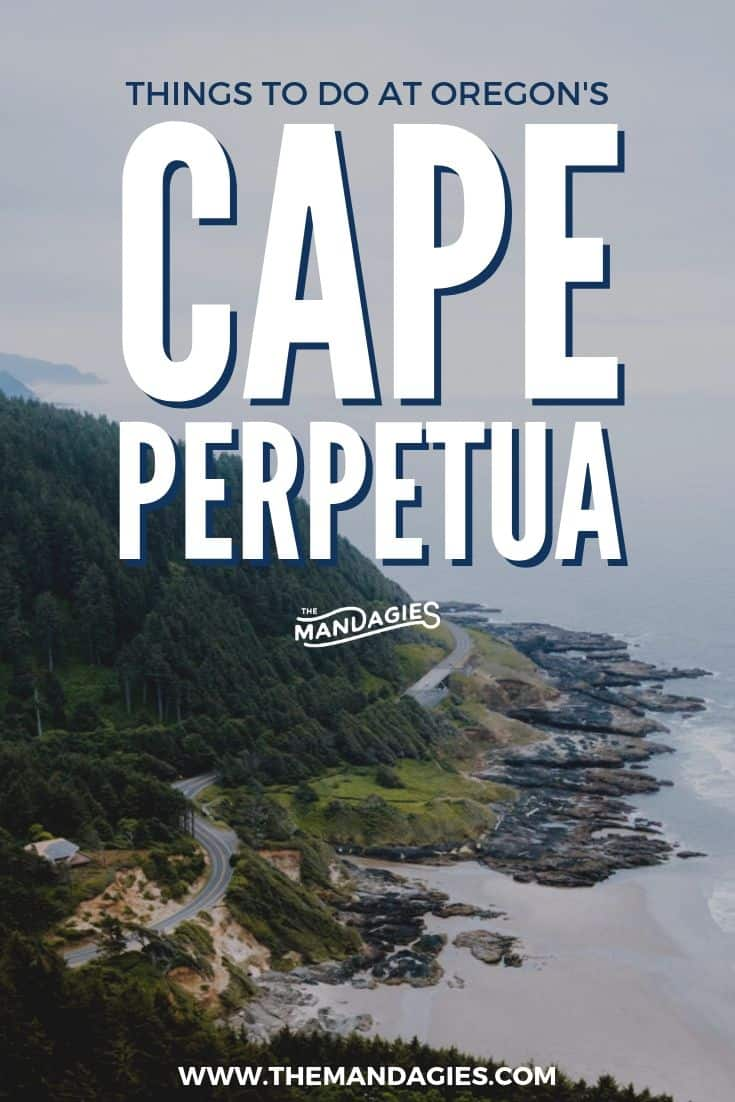 Click here to discover all the amazing things to do in Cape Perpetua Oregon, on the Oregon Coast! From tide pools to water features to camping, there's so much to do on this Pacific Northwest spot! #PNW #oregon #oregoncoast #roadtrip #ocean #Pacificnorthwest #travel #outdoors #nature