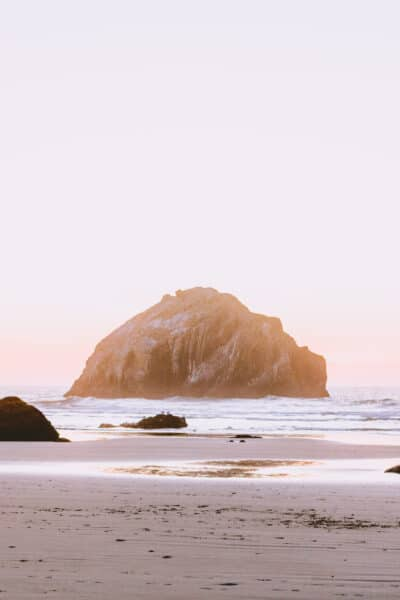 9 Stunning Sea Stacks At Face Rock State Scenic Viewpoint You Have To See To Believe