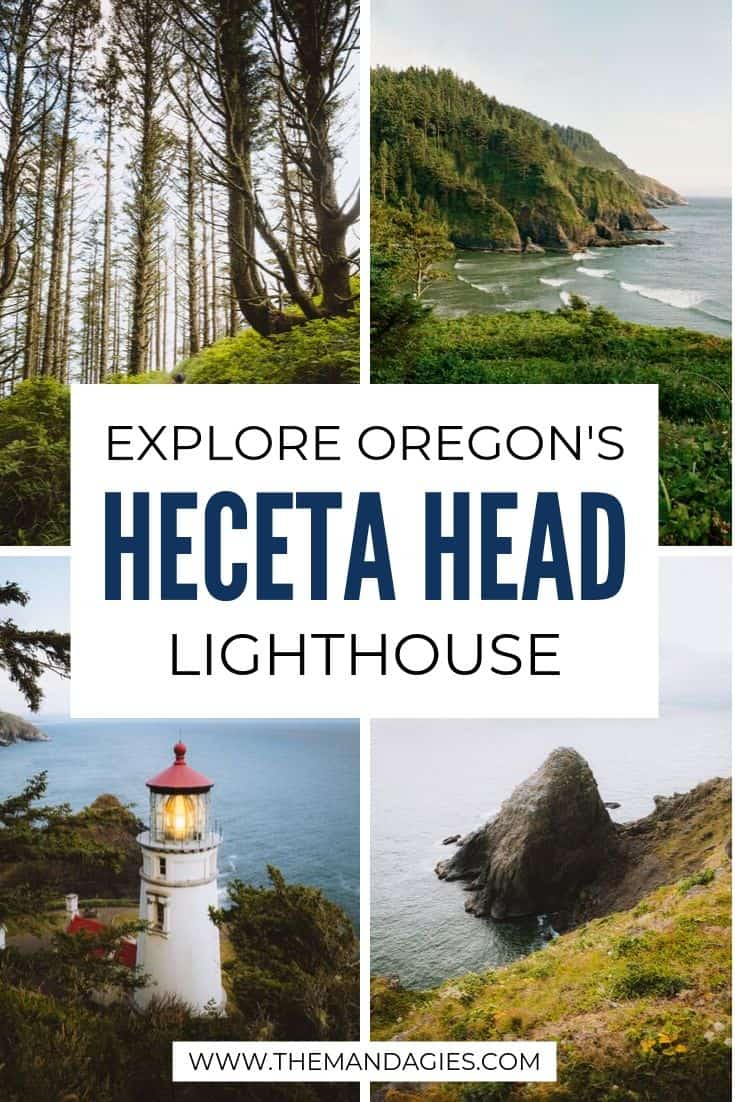 The Heceta Head Lighthouse in Oregon is more than just a pretty view! We're sharing the many trails, viewpoints, and activities to do at this epic Oregon Coast stop. Bonus: Stay at the Innkeepers Bed and Breakfast! #oregon #oregoncoast #PNW #pacificnorthwest #lighthouse #sunrise #travel #B&B #photography #landscape #ocean #USA