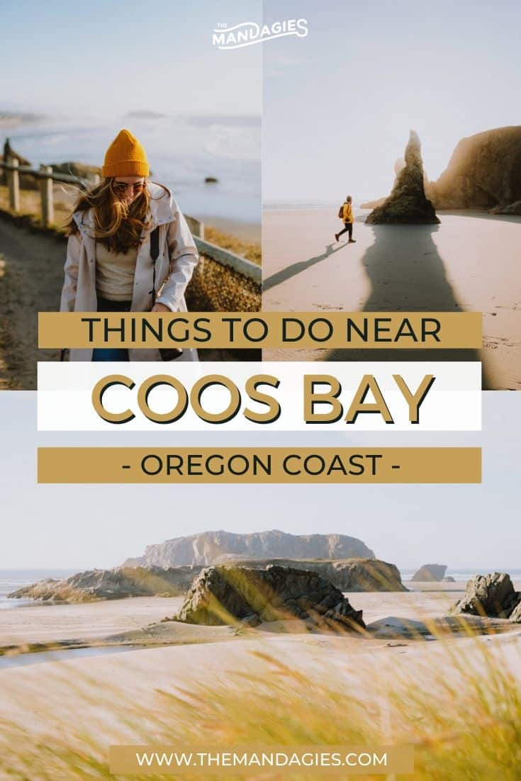 Driving down the Oregon coast and looking for epic adventures in the Pacific Northwest? We're sharing all the best things to do in Coos Bay (and nearby!) to pack your itinerary with beautiful stops. Save this post for your next trip to the Oregon Coast! #roadtrip #oregon #oregoncoast #coosbay #pacificnorthwest #PNW #adventure #photography #USA #oregonstate