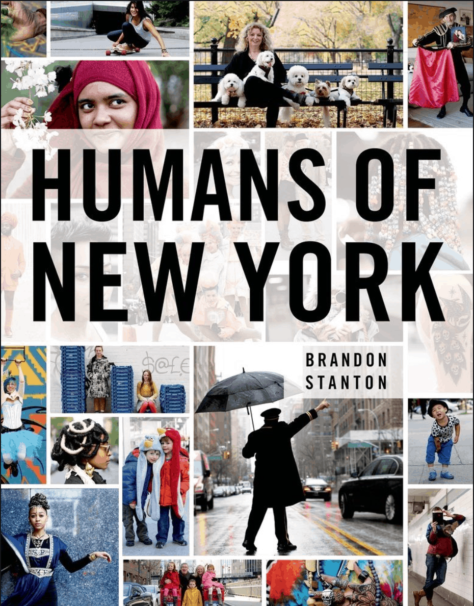 Humans of New York by Brandon Stanton - Coffee Table Travel Books