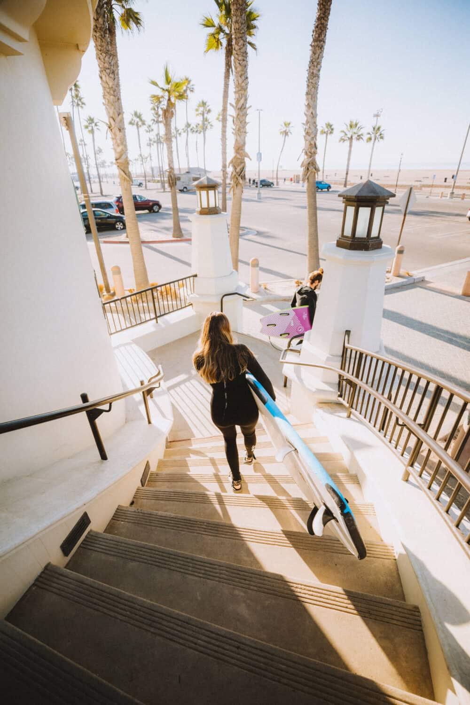Outdoor Activities In Orange County - Surfing Huntington Beach - TheMandagies.com