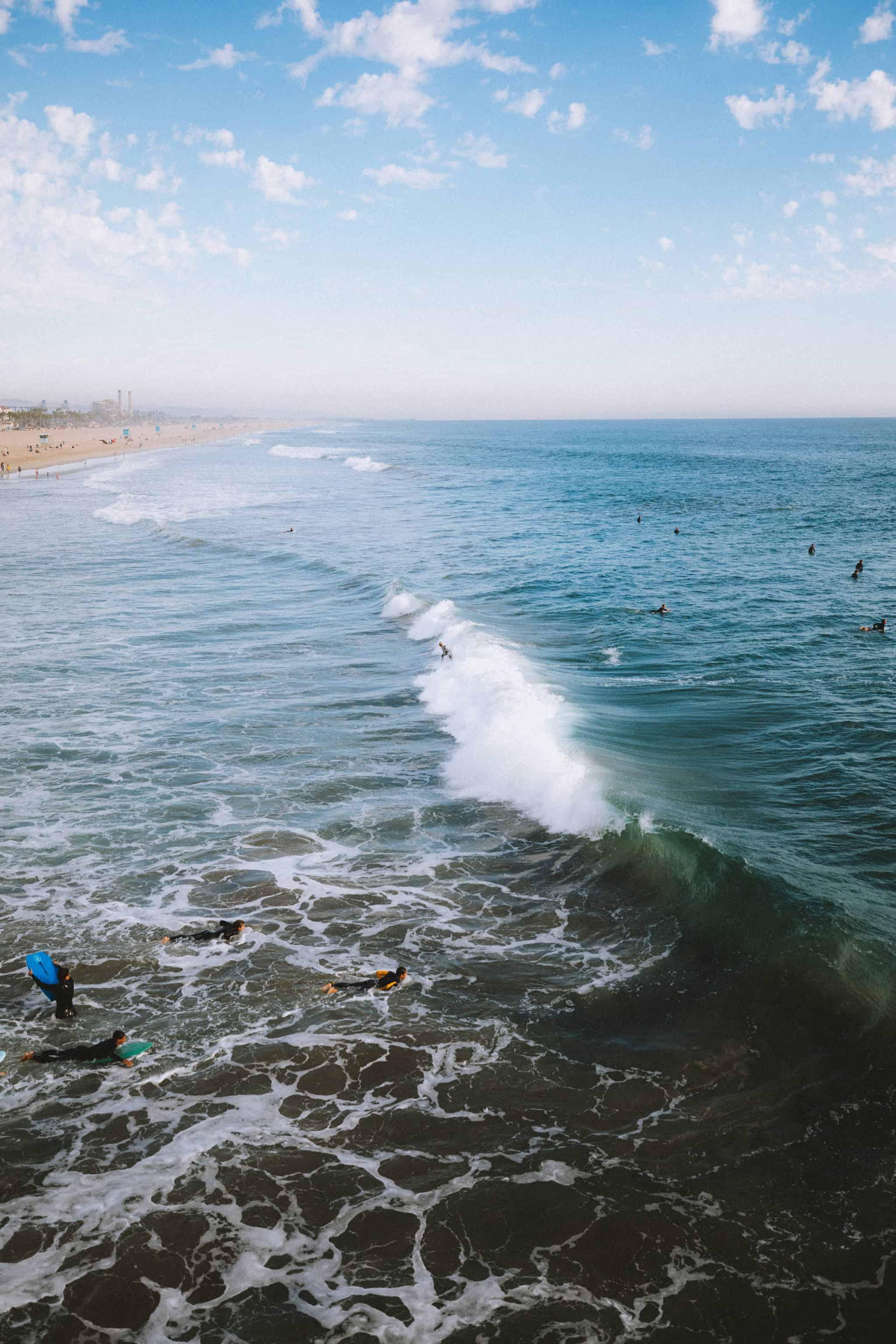 Places To Go In Orange County - Huntington Beach Pier - TheMandagies.com
