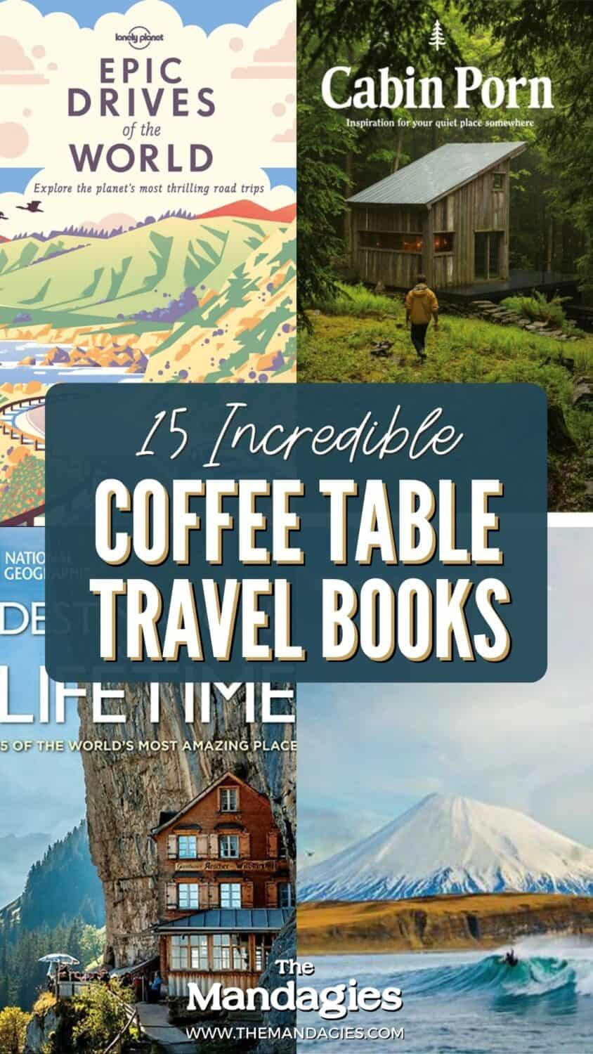 One of the coolest gifts for travelers had got to be coffee table books! They are beautiful, informational, and teeming with inspiration for your next adventure! Browse the best coffee table travel books, from beaches to mountains, best hikes, and road trip routes! #roadtrips #wintertravel #winter #giftguide #travelgiftguide #christmas #xmas #christmasgifts #gifting #giftideas #travelbooks #books #coffeetablebooks