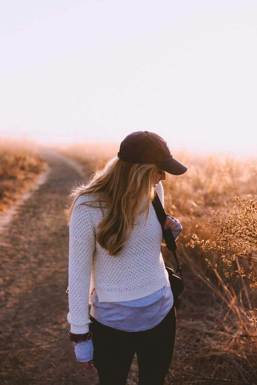 Outdoor Activities in Orange County - Emily Mandagie Hiking Quail Hill Irvine - TheMandagies.com