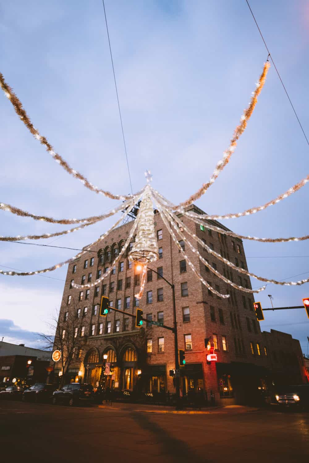 Downtown Bozeman Christmas Light Display - TheMandagies.com